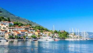 Marina safety is important in Agia Efimia in Kefalonia