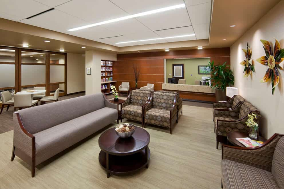 Make your office waiting room warm and inviting